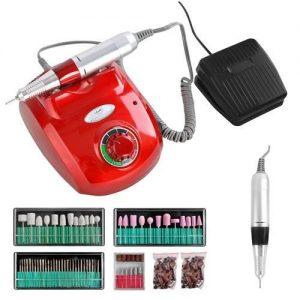 Rode Nagelfrees Machine