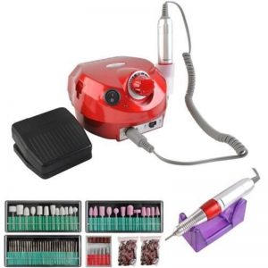 Nagelfrees machine professioneel rode uitvoering