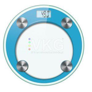 Personenweegschaal-digitaal-rond-blauw
